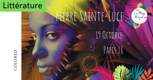 2019-10-19 Pierre Sainte Luce - Librairie Maruani - Festival Le Mois Kréyol 3