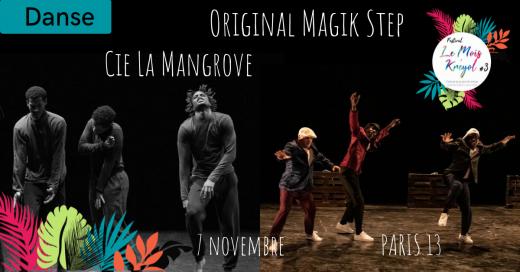 2019-11-07 Original Magik Step - Cie la Mangrove - Festival le Mois Kréyol 3